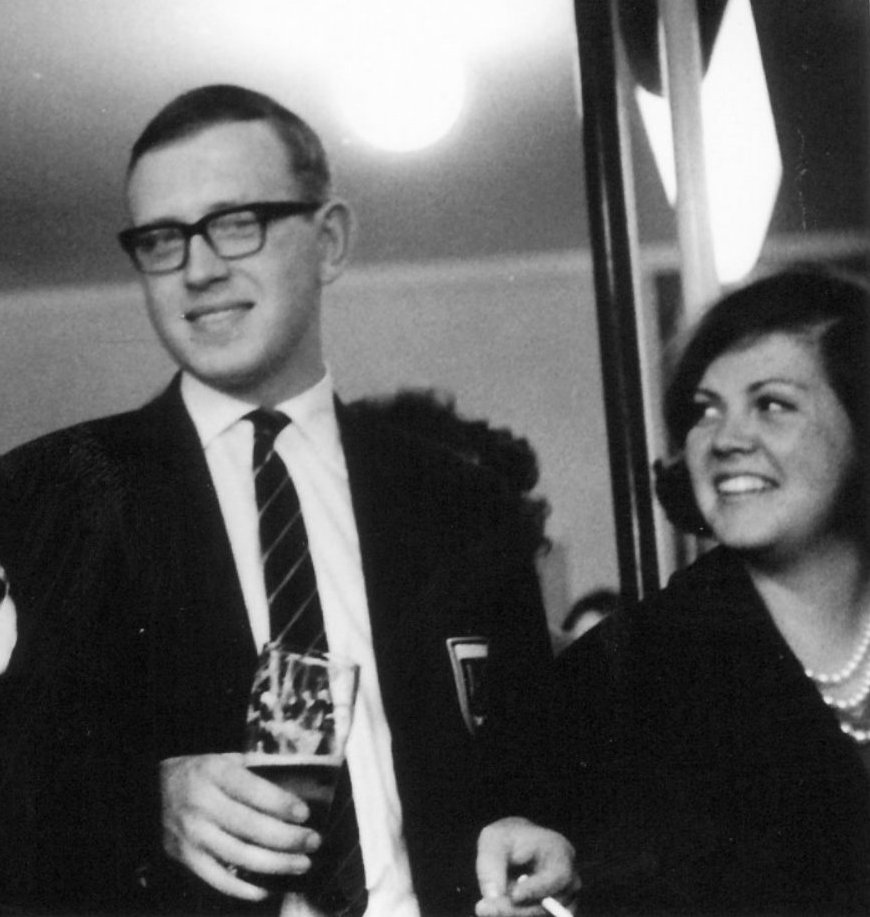 Hans en Carla Walscheid van Dijk, 10 april 1965